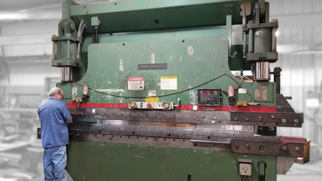 Cincinnati CB 230 Ton Press Brake