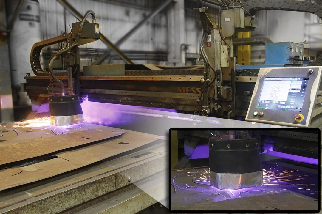 Messer High Definition Plasma Cutting Table